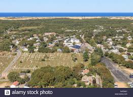 provincetown massachusetts cape cod city view and beach and