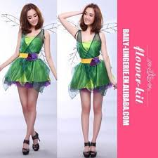 halloween costume fairy costume forest green elf dress wings