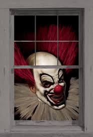 halloween city application amazon com wowindow posters slammy the scary clown halloween