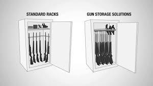 stack on 14 gun cabinet accessories gun storage solutions safe accessories youtube