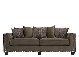 cindy crawford calista microfiber sofa dynasty truffle raymour