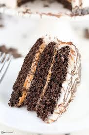 gluten free chocolate cake with peanut butter veggie balance