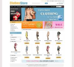 10 best oscommerce templates for clothing u0026 cloth store websites