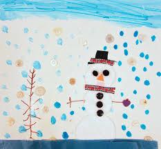 mixed media snowmen art project for kids 1st grade u2013 art is