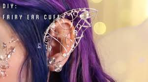 how to make ear cuffs fairy ear cuff diy tiffyquake