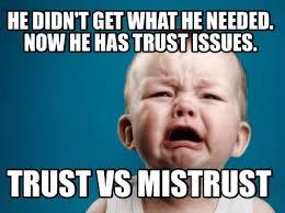 Trust Memes - meme creator trust vs mistrust meme generator at memecreator org
