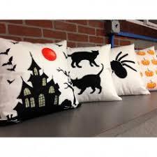 black cats diy accent pillow stencil kit diy throw pillows for