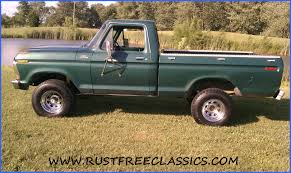 78 Ford F150 Truck Bed - 1978 f150 swb 300 six cylinder ford green