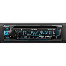 kenwood kdc bt365u cd single din in dash bluetooth car stereo