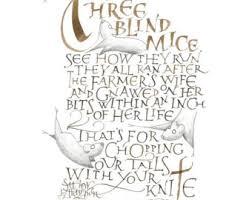 Three Blind Mice Piano Notes Three Blind Mice Finger Puppet Three Blind Mice Three Blind