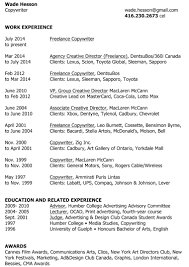 Cma Resume Examples by Creative Copywriter Resume