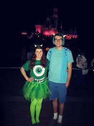 Monster Halloween Costumes Fun Easy Disney Couples Costume Halloween