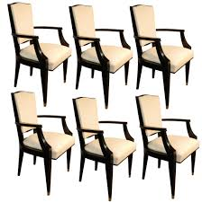 art deco dining room sets jean pascaud set of 6 dining room chairs french art deco modernism