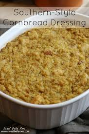 southern style cornbread dressing grace and eats