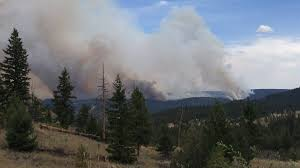 Wildfire Bc Clinton by More Properties Evacuated Northeast Of Clinton Cfjc Today