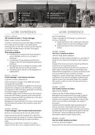 Project Manager Resume Templates Free Sample Of It Project Manager Resume Template Projectmanagementinn