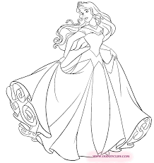 disney aurora coloring pages eson me