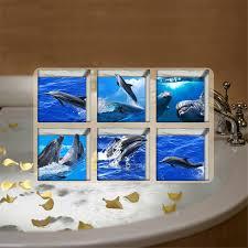 Bathtub Anti Slip 6pc Set Creative 3d Bathtub Anti Slip Shower Room Diy Stickers
