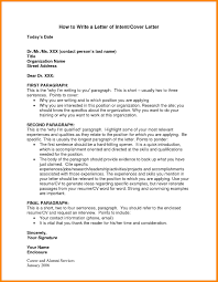 Reporter Cover Letter 6 A Letter Of Intent Reporter Resume