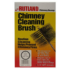 rutland 1 piece chimney sweep 6 in round chimney cleaning brush