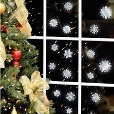 Christmas Window Decorations Ornaments by Making Paper Snowflakes And Garlands Charming Handmade Christmas