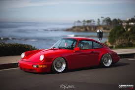 stanced porsche 964 low porsche 911 carrera 4