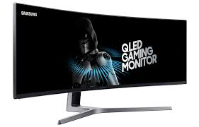 samsung u0027s beastly 49 inch qled display is built for gaming