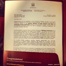 How Does College Acceptance Letter Look Like 11 Awesome College Acceptance Letters Shared In Instagram