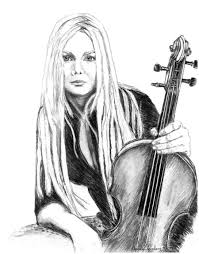 mairead with violin by april feinberg on deviantart