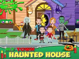 apk house my town haunted house apk apkname