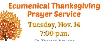 alpharetta ecumenical thanksgiving prayer service st