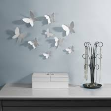 Awesome Wall Decor by Umbra White Wall Flowers Decorating Tips U0026 Ideas Pinterest