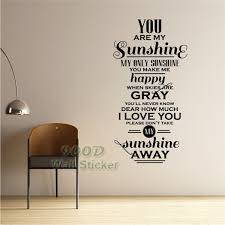 aliexpress com buy love story quote wall sticker diy home