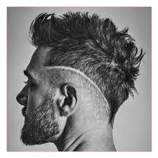 Mens Hairstyle Shaved Sides Long Top by Mens Haircuts Shaved Sides Long Top Together With Barbershop