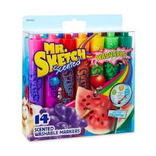 mr sketch 14 count washable scented markers 8 14 coupons and