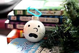 diary of a wimpy kid ornament personalize the tree for your