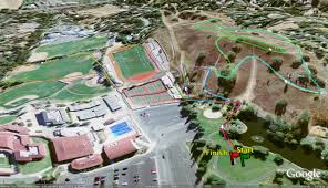 Mount Sac Map California High Cross Country Courses
