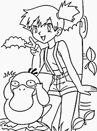 pokemon coloring pages misty image result for pokemon coloring pages misty paper crafts