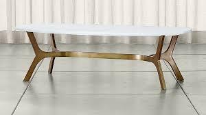 Cb2 Marble Coffee Table Best Smart Low Marble Coffee Table Cb2 Regarding Remodel Top Elke