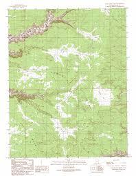 Ut Map Cedar Mesa North Topographic Map Ut Usgs Topo Quad 37109d8