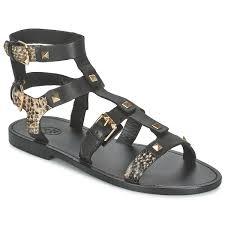 women sandals ash united gold topo ash skull studded boots