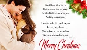 cute romantic merry christmas wishes for husband u0026 wife