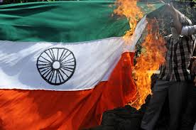 Burning A Flag Indian Police Hunt Chennai Youth Who Burnt The National Flag And