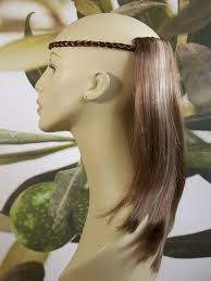 Hair Extensions In Newcastle Upon Tyne by Light Brown Highlights 1 Piece Straight Hair Extension 14