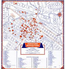 New Orleans Streetcar Map Pdf by Bayou City History Houston April 2007