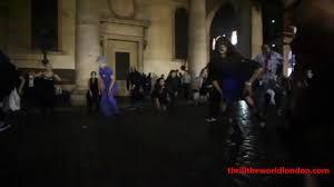 halloween watch u0027dancing zombies u0027 take over london as part of