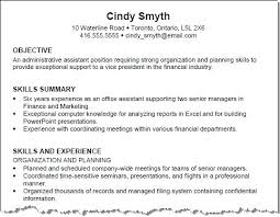 administrative assistant job objective resume samples career objective objective resume sample statements