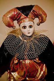 336 best harlequin jester perriot dolls images on