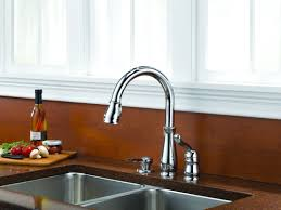 delta leland pull kitchen faucet faucet 978 we dst sd in chrome by delta