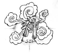 kami kanji tattoo by j w white on deviantart